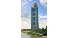 Longxi International Hotel, tecnología kaxite, el perfil de poliamida para la fachada, rotura de puente térmico de poliamida