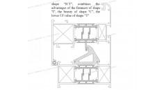 Uf 2,0 K / m2K, rotura de puente térmico, Soluciones para el marco de la ventana de aluminio