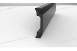 tira de barrera térmica, Forma C de 24 mm tira de barrera térmica, perfil de aluminio de barrera térmica, ventana de aluminio de barrera térmica