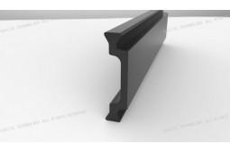 barra de barrera térmica, Forma C de 25 mm barra de barrera térmica, perfil de aluminio de barrera térmica, barrera térmica de ventana de aluminio