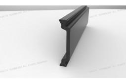 tira de calor barrera, Forma C 28 mm tira de barrera contra el calor, el calor de perfil de aluminio de barrera, ventana de aluminio de barrera térmica