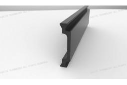 poliamida perfil de barrera térmica, Forma C de 30 mm de perfil de barrera térmica de poliamida, barrera térmica perfil de aluminio, ventanas de aluminio de barrera térmica