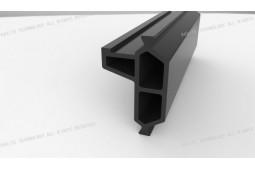 fibra de vidrio reforzada de poliamida, producto roto calor, marco de la hoja de aluminio