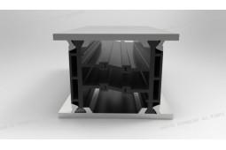 poliamida 6 . 6 25% de fibra de vidrio, el perfil de barrera térmica