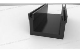 perfil térmico barrera de nylon, nylon perfil de barrera térmica a medida, de alta precisión el perfil de barrera térmica de nylon, nylon perfil de fachada