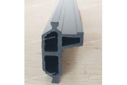 poliamida perfil personalizado, perfil de plástico a medida, extrusión de perfiles de plástico