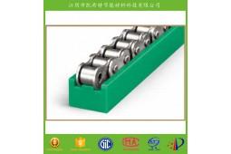 cadena de rodillos de guiado de orugas, guía de la cadena de línea de producción automática, TIPO TS guía de la cadena, PA66 cadena de rodillos de guiado de orugas, PA66 guía de la cadena,