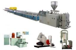 línea automática de producción para la extrusión, línea de producción automática de rotura de puente térmico, Nylon máquina extrusora ruptura térmica, poliamida PA66 tira extrusora rotura de puente té