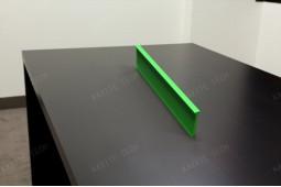 poliamida verde, rotura térmica verde, pintura en color poliamida, azul PA66