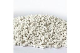 PLA + PBS, paja de PLA, paja biodegradable, extrusión de PLA, partícula de PLA
